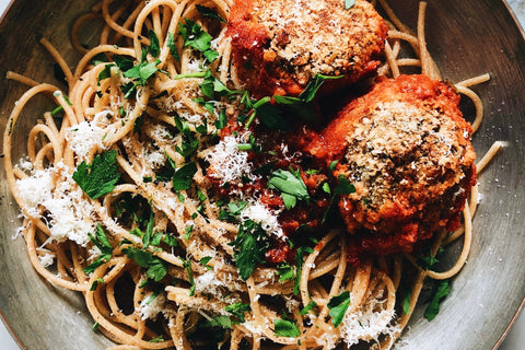 French Lentil Meatballs