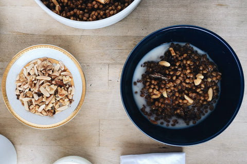 Date + Nut Wheat Berry Cereal