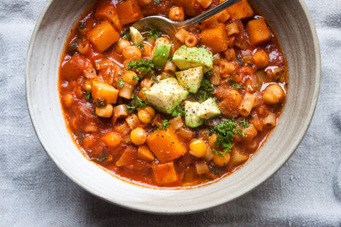 Winter Chickpea Minestrone