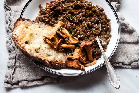 Caramelized Shallot French Lentils