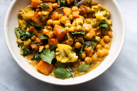Chloe's Conscious Chickpea Curry