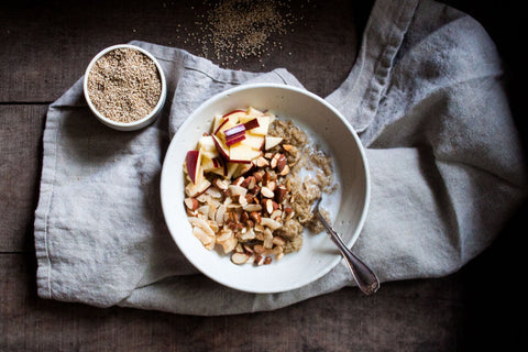 Golden Quinoa Breakfast Bowl