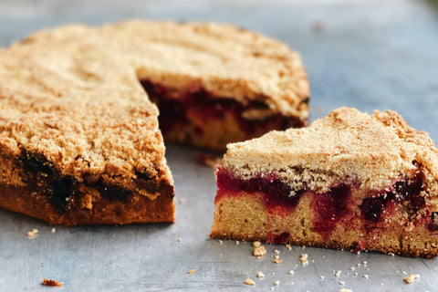 Cranberry Crumble Cake