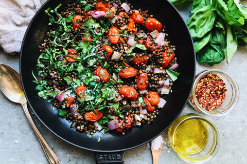 20 Minute French Lentil Hash