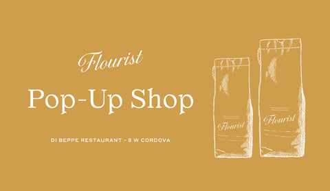Our Next Flourist Pop-Up Shop is April 13th!