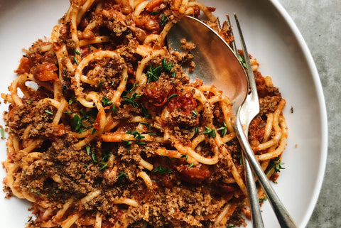 French Lentil Bolognese