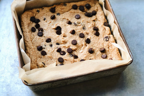 Navy Bean Blondies