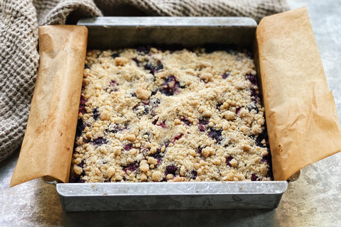 Blueberry Ricotta Buckle