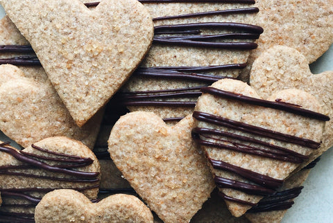 Sablé Heart Cookies