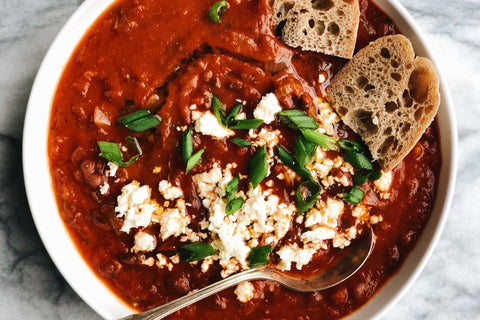 Spiced Black Bean Soup