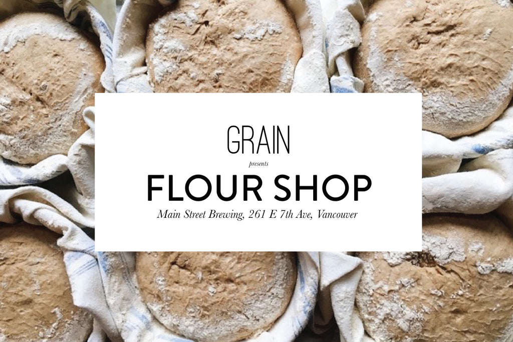 Our Final Summer FLOUR SHOP is Saturday, August 19th!