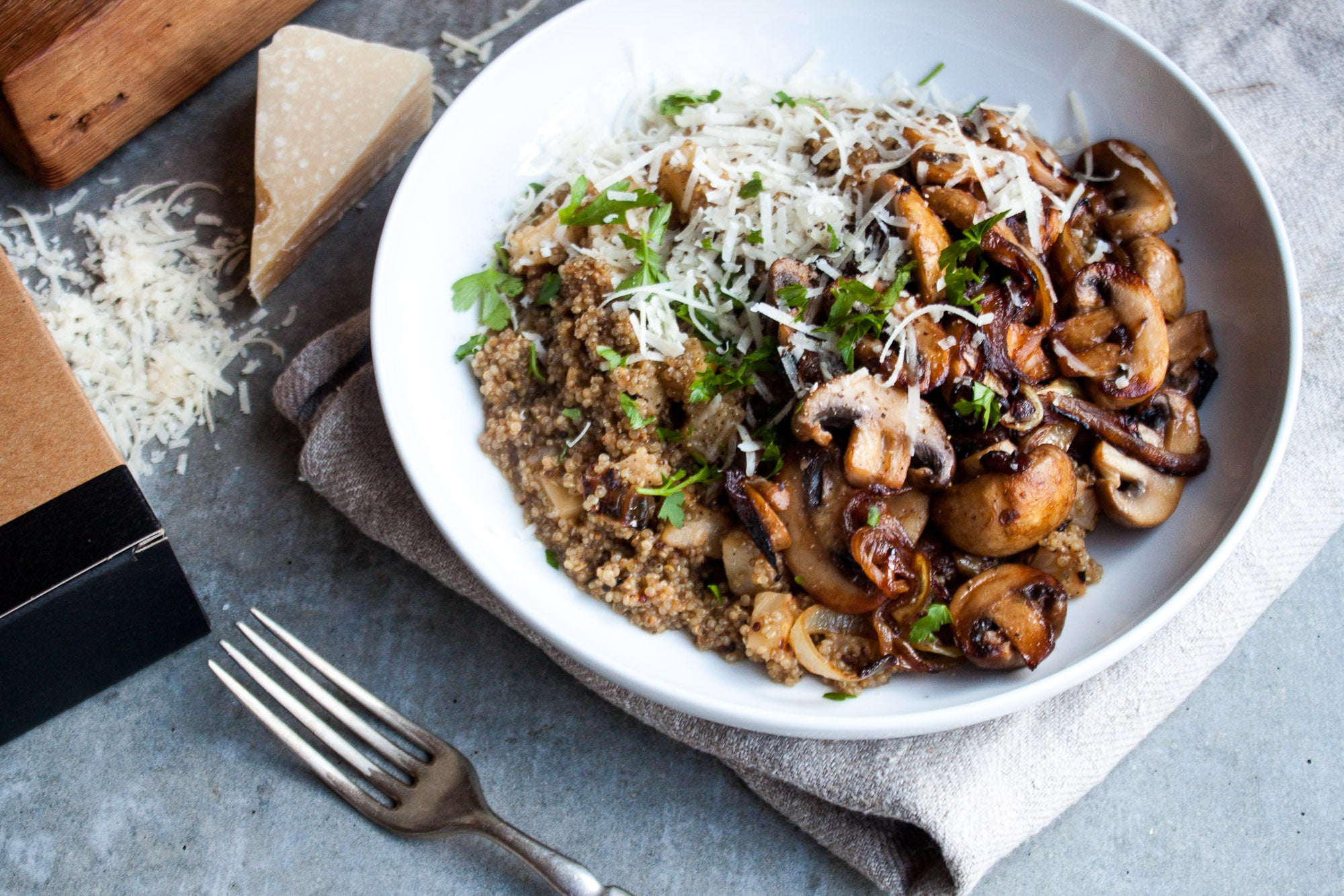 Celeriac + Golden Quinoa Risotto
