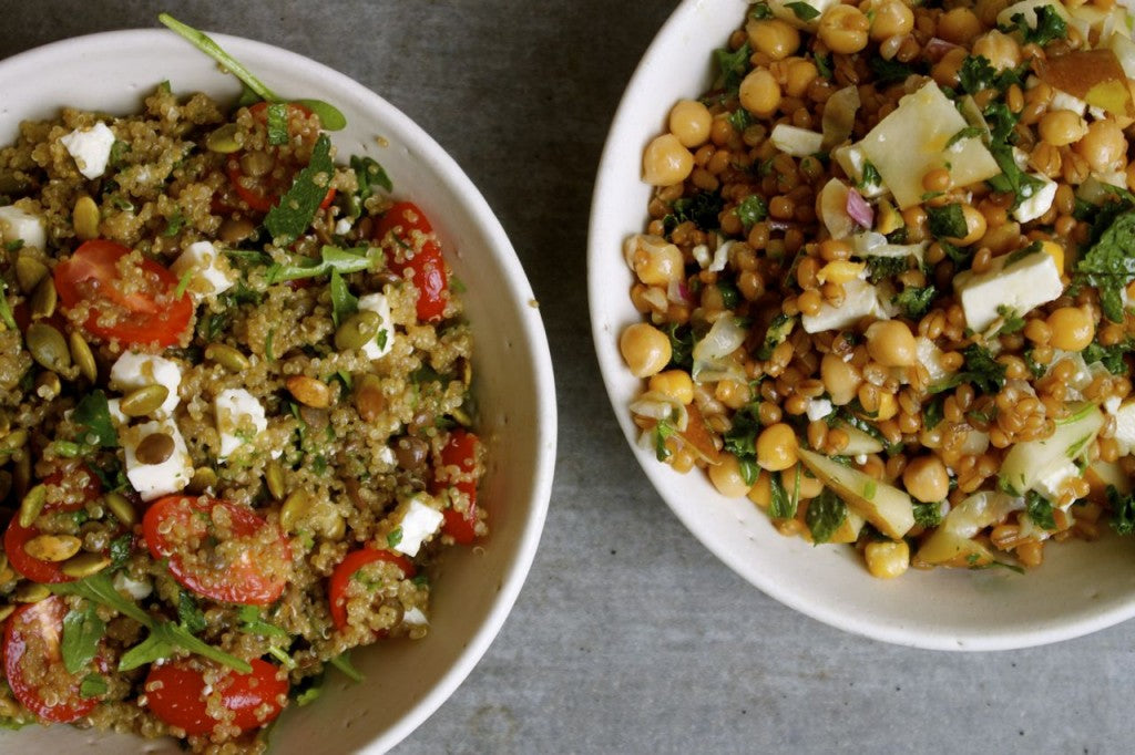Two Summer Grain Salads | GRAIN