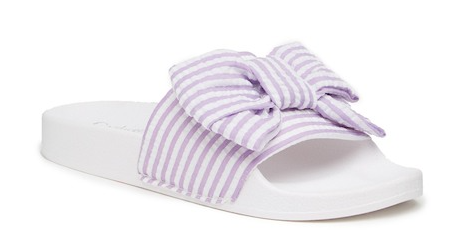 Bow Stripe Sandal