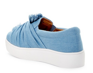 Denim Slip on Sneakers