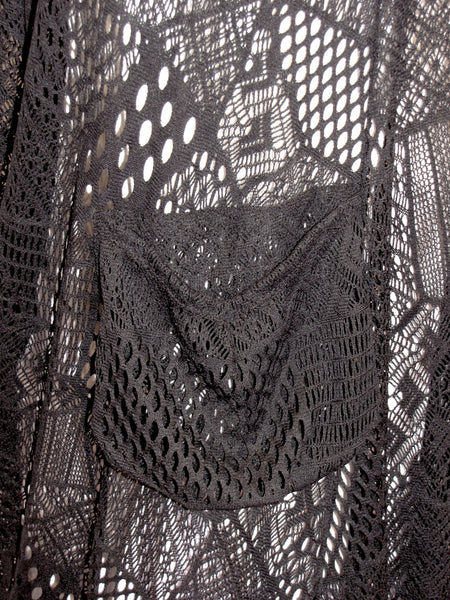 Long Mesh Cover Up