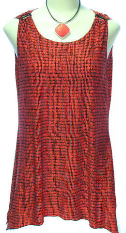 Tunic with Ring Shoulder