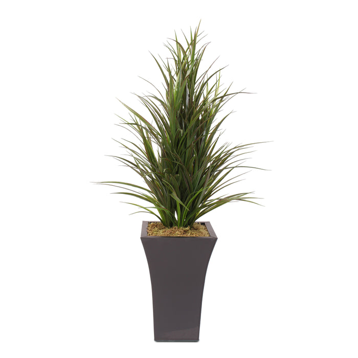 Dracaena Grass in Tall Metal Container #95