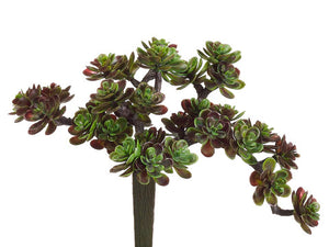 Artificial Sedum Pick (6 Succulents Total) #CM4504-GR/BU