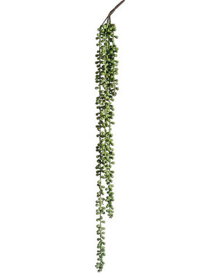 Soft Artificial String of Pearls Spray (6 Sprays Total) #CZ0413-GR