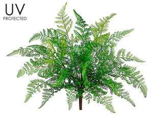 UV Protected Leather Fern Bush Green #PBF413-GR