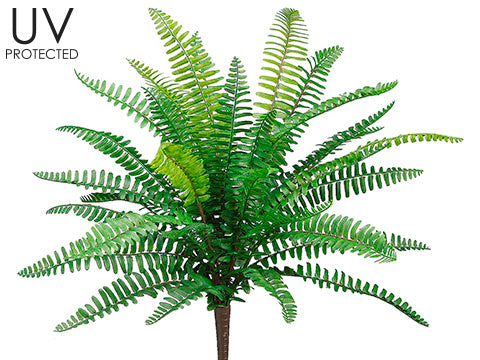 UV Protected Boston Fern Bush Green #PBF426-GR