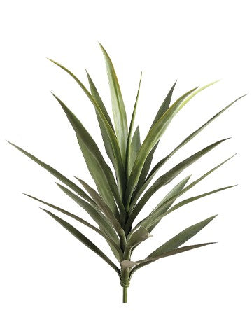 "27"" Yucca Plant with 24 Leaves  Green #PPY217-GR"
