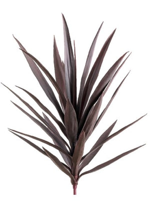 "27"" Yucca Plant with 24 Leaves  Purple #PPY217-PU"