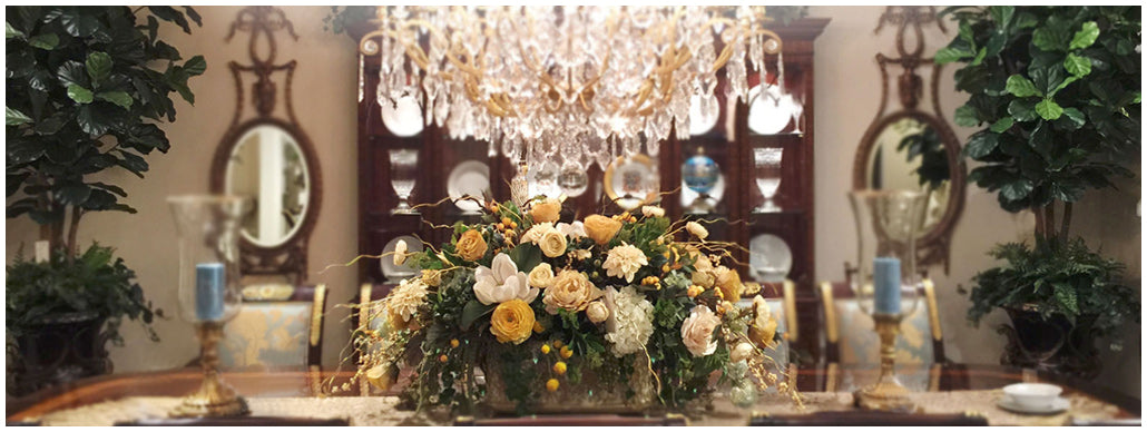 Exclusive Handmade Silk Flowers & Artificial Plants in U.S.A.
