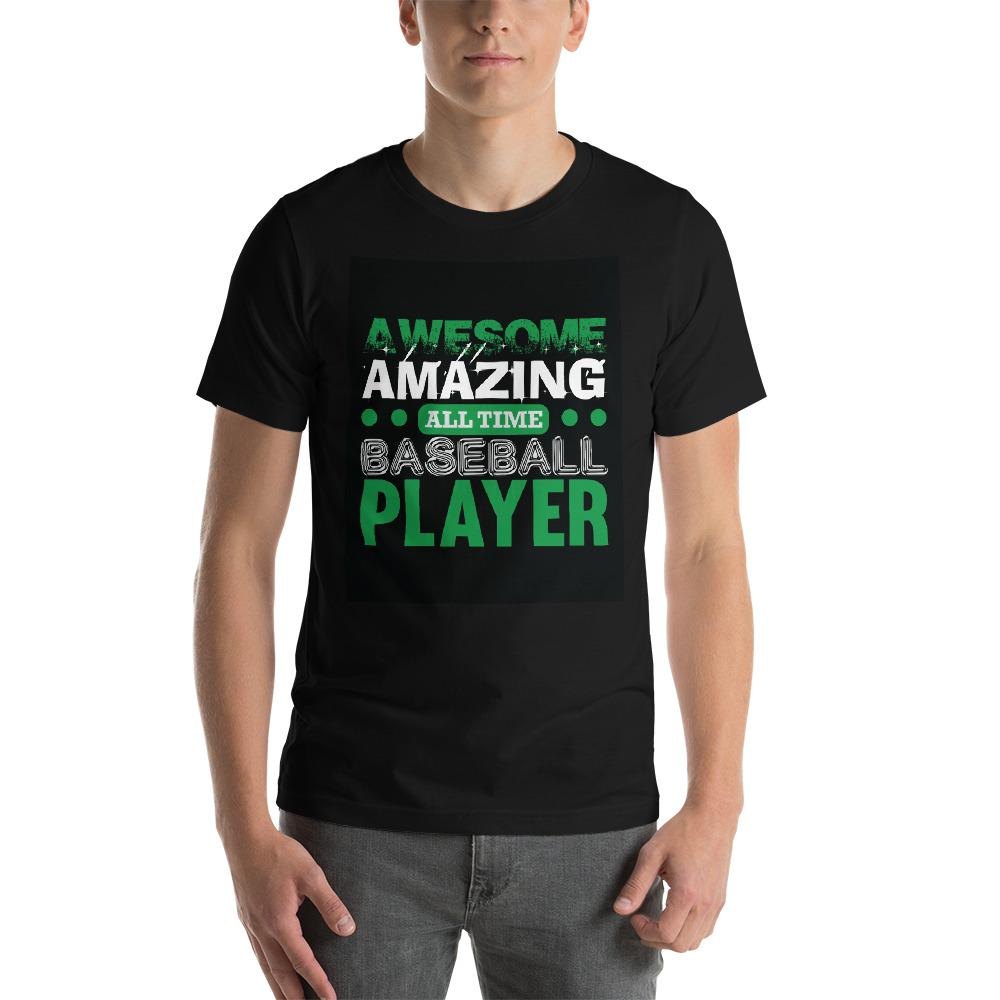 Amazing all time baseball player Men's T-Shirt Chiro's Black XS