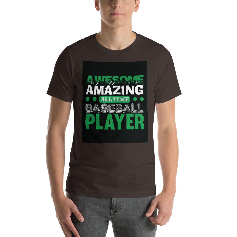 Amazing all time baseball player Men's T-Shirt Chiro's Brown S