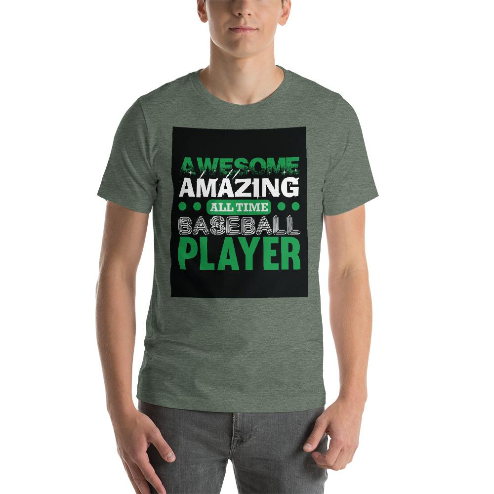 Amazing all time baseball player Men's T-Shirt Chiro's Heather Forest S