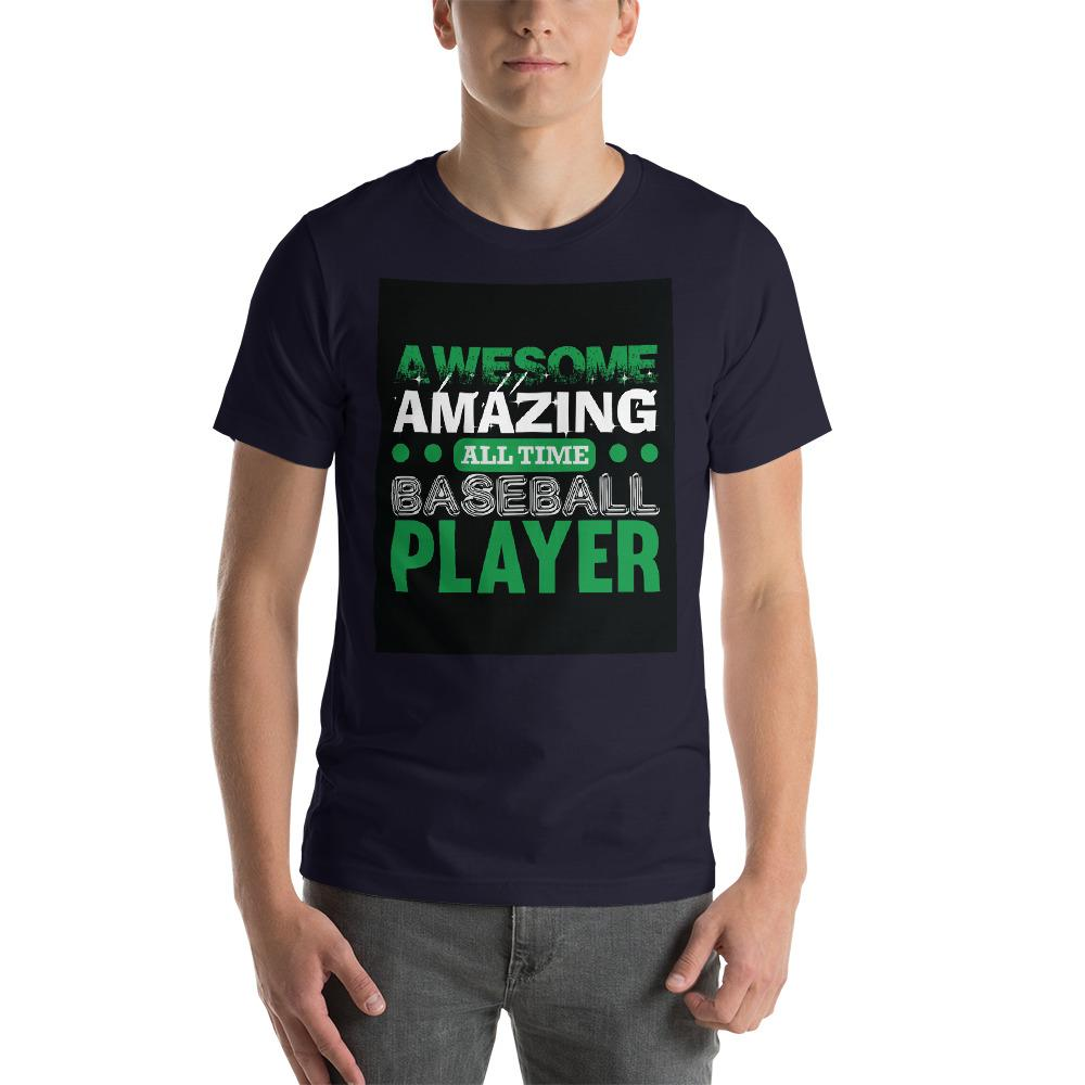 Amazing all time baseball player Men's T-Shirt Chiro's Navy XS
