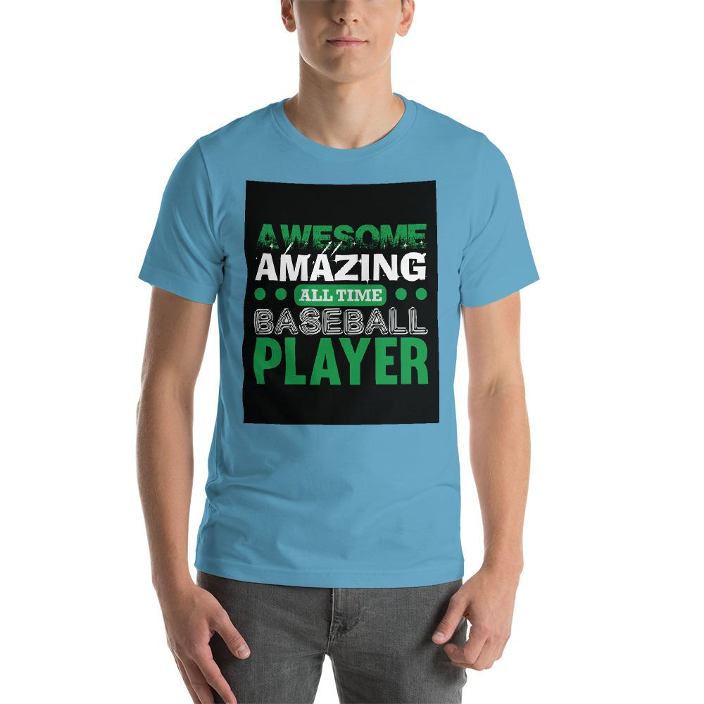 Amazing all time baseball player Men's T-Shirt Chiro's Ocean Blue S