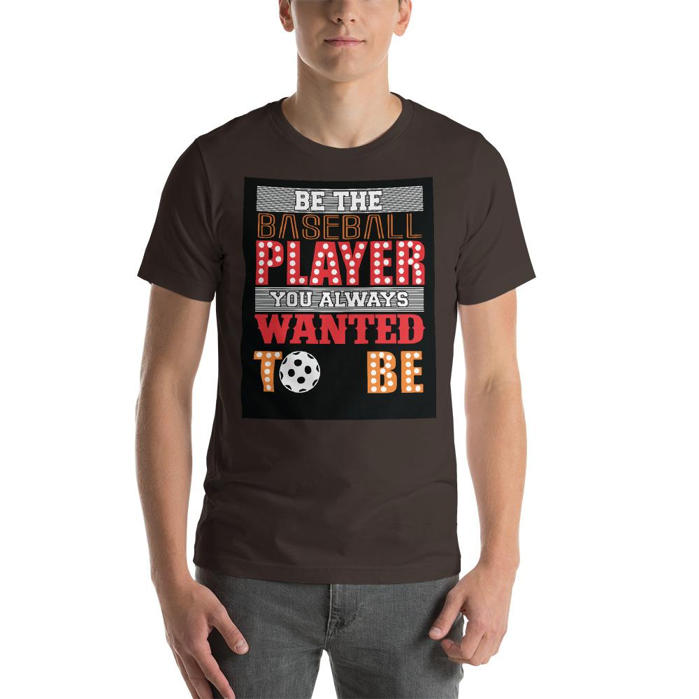 Be the baseball player you always wanted to be Men's T-Shirt Chiro's Brown S
