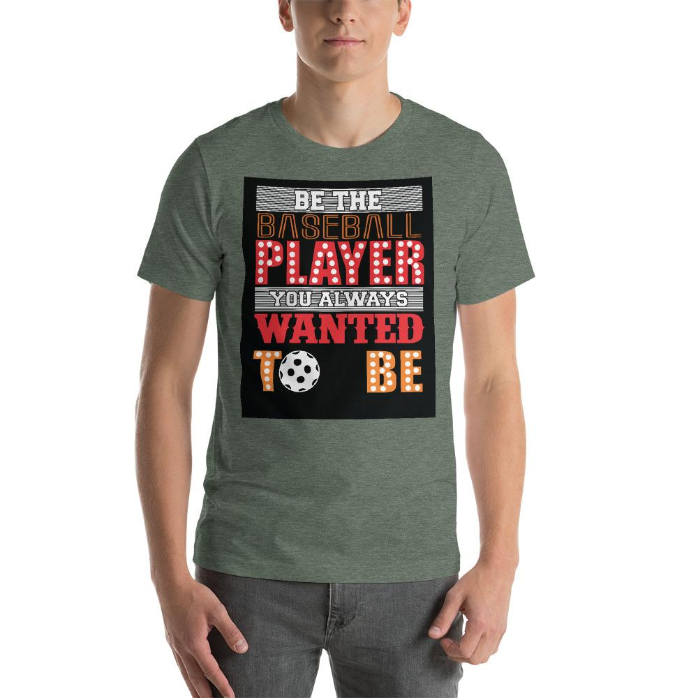 Be the baseball player you always wanted to be Men's T-Shirt Chiro's Heather Forest S