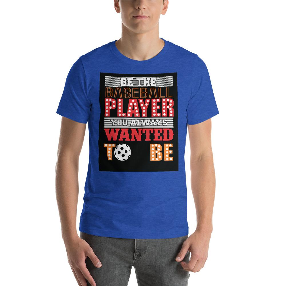 Be the baseball player you always wanted to be Men's T-Shirt Chiro's Heather True Royal S