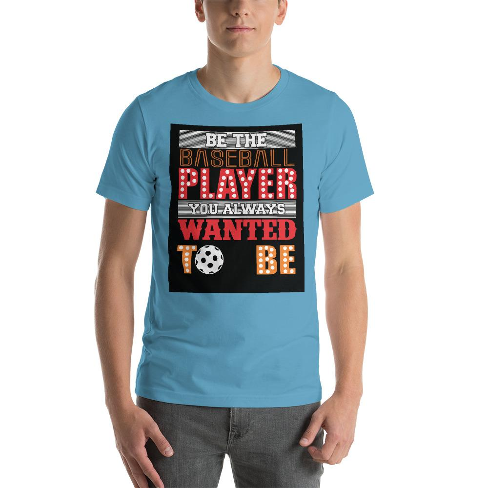 Be the baseball player you always wanted to be Men's T-Shirt Chiro's Ocean Blue S