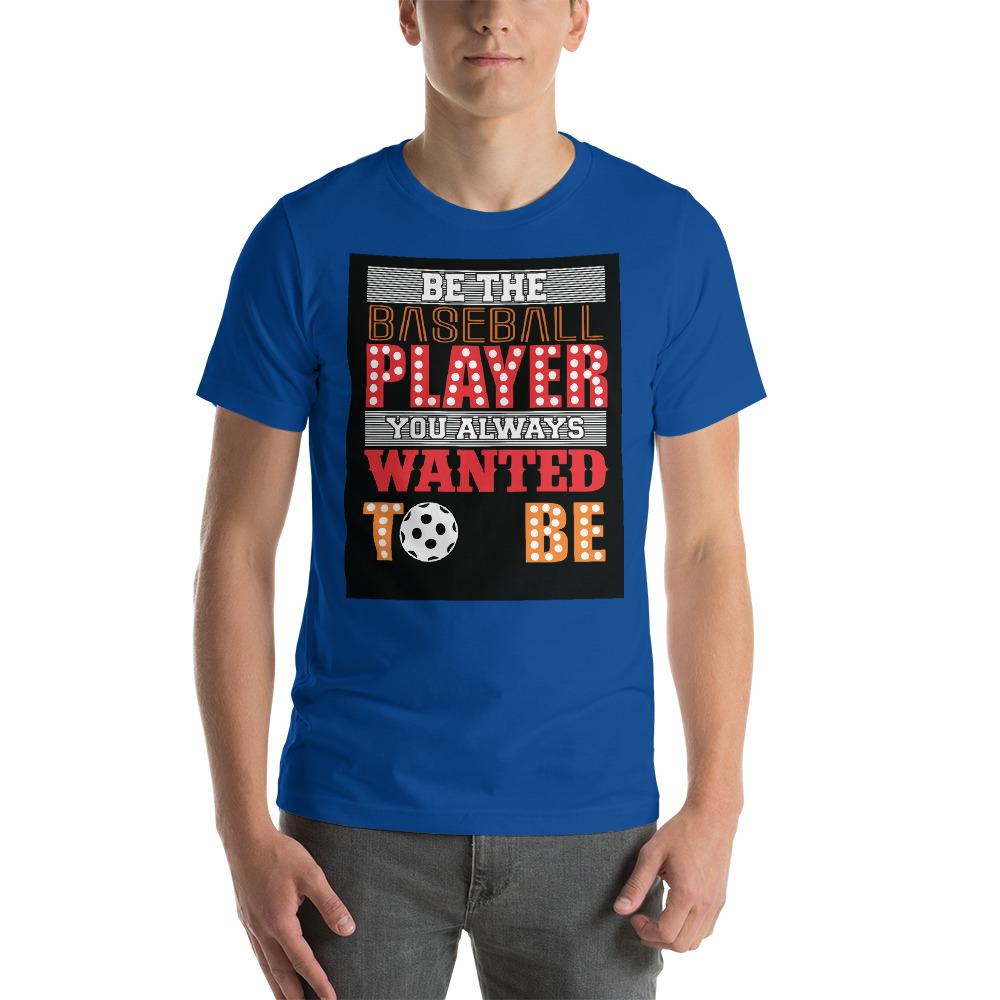 Be the baseball player you always wanted to be Men's T-Shirt Chiro's True Royal S