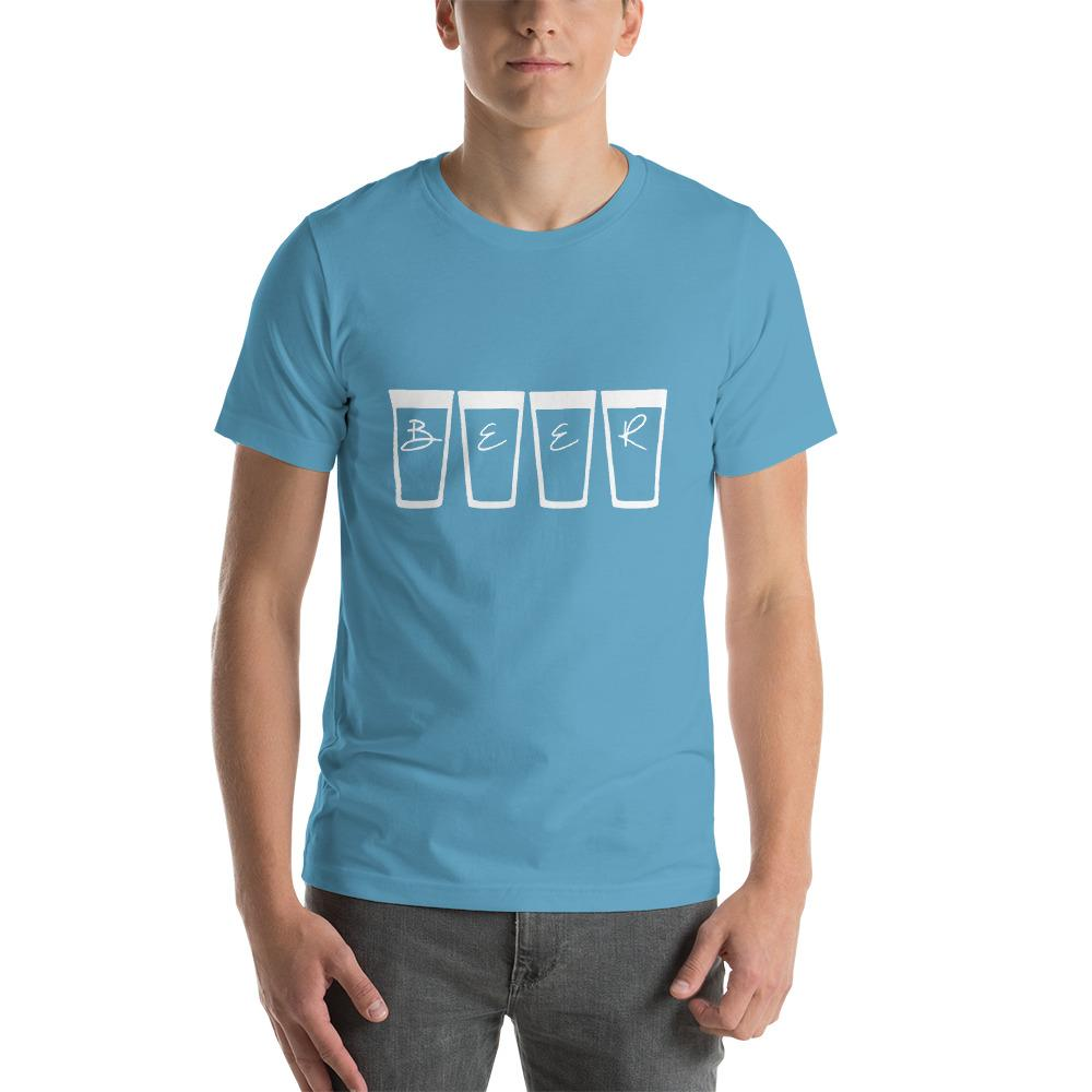 Beer Men's T-Shirt Chiro's Ocean Blue S