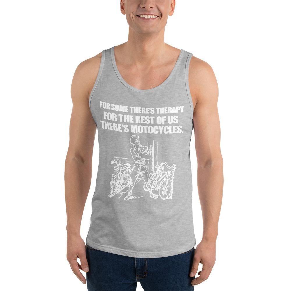 For Some There's Therapy Tank Top Chiro's Athletic Heather XS