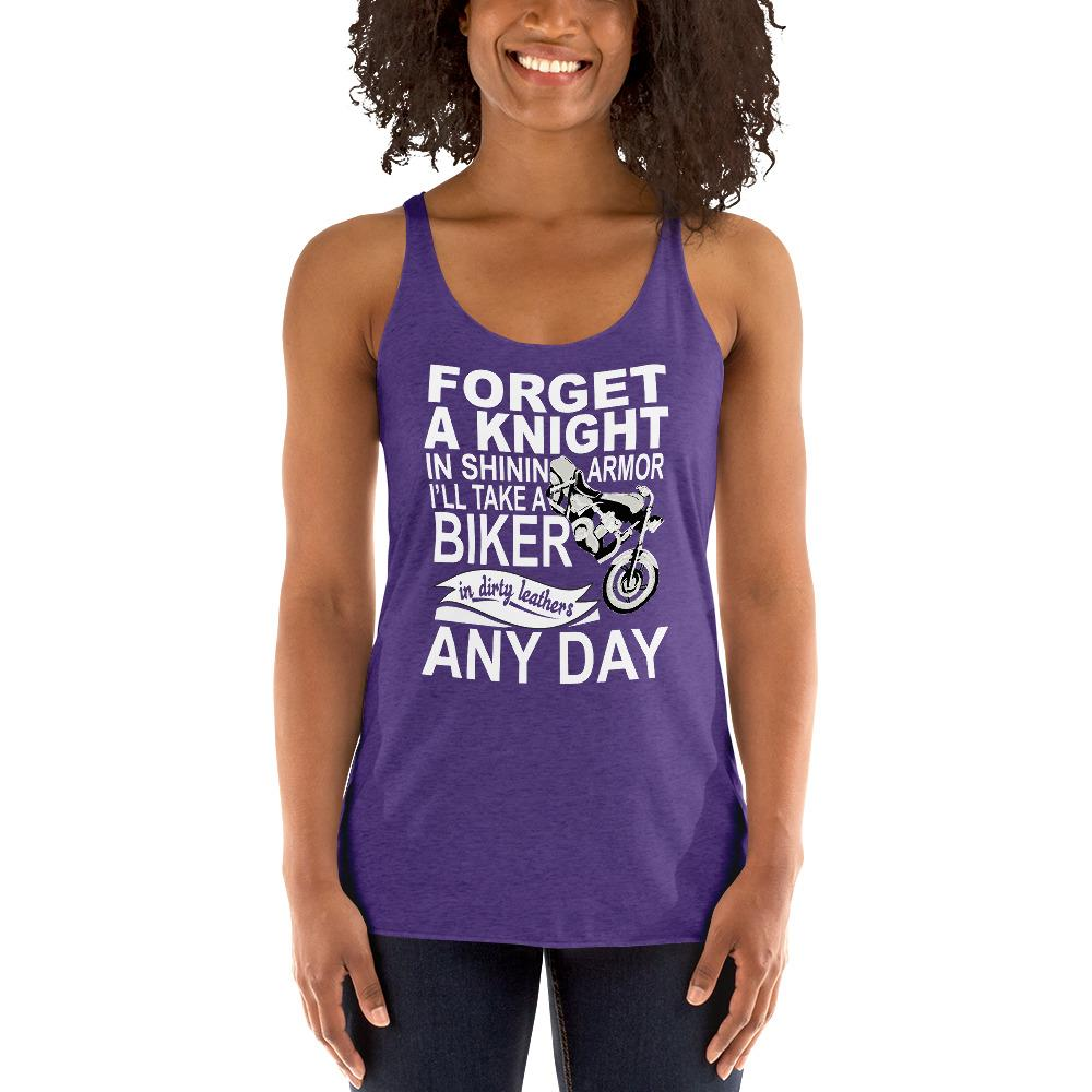 Forget a Knight In Shinning Armor Women's Tank Top Chiro's Purple Rush XS