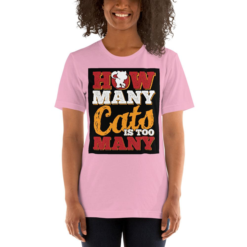 How many Cats is too Many Women's T-Shirt Chiro's Lilac S