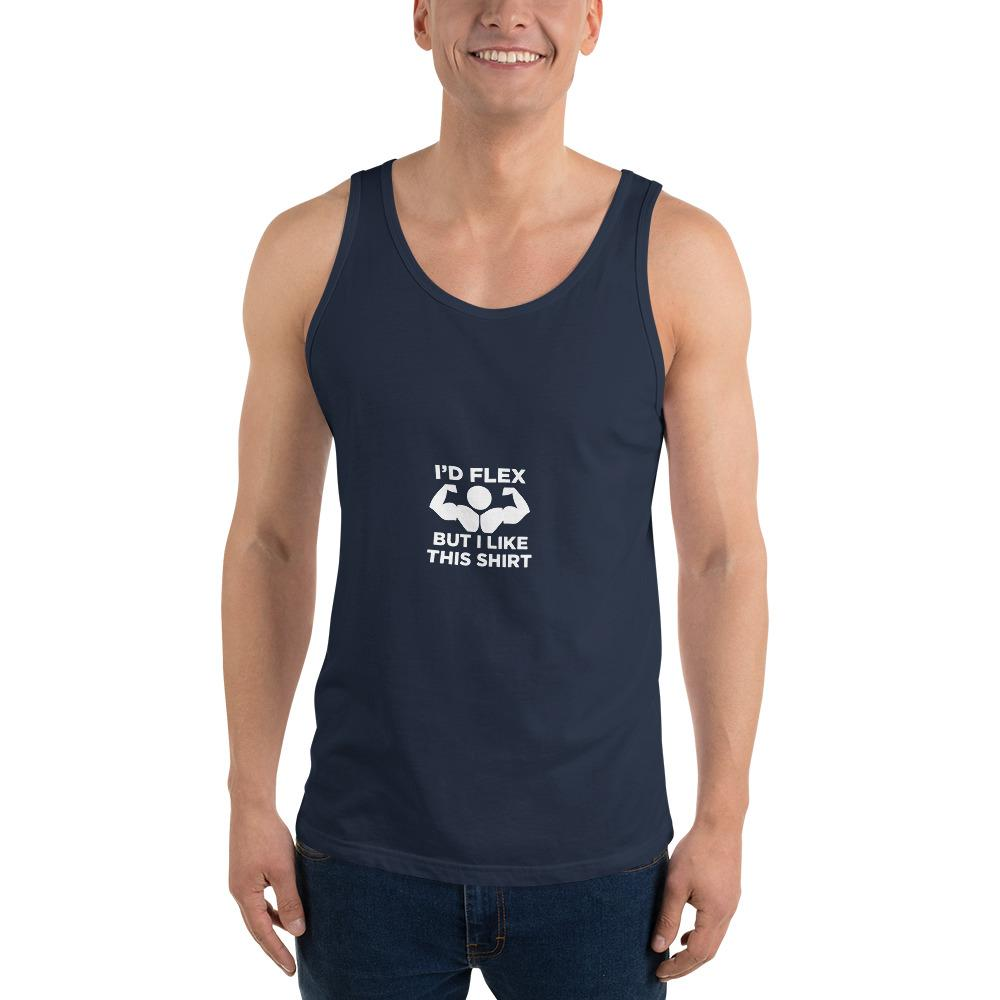 I'd Flex Tank Top Chiro's Navy XS