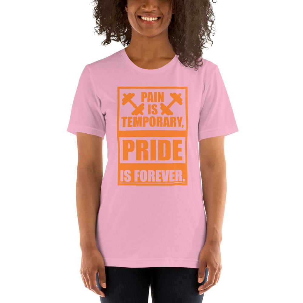 Pain is temporary, Pride is forever Women's T-Shirt Chiro's Lilac S