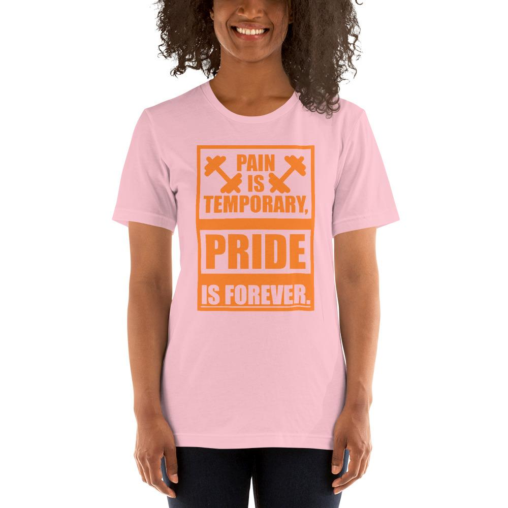 Pain is temporary, Pride is forever Women's T-Shirt Chiro's Pink S
