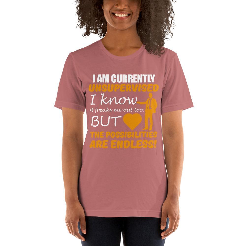 Possibilities are endless women's T-Shirt Chiro's Mauve S