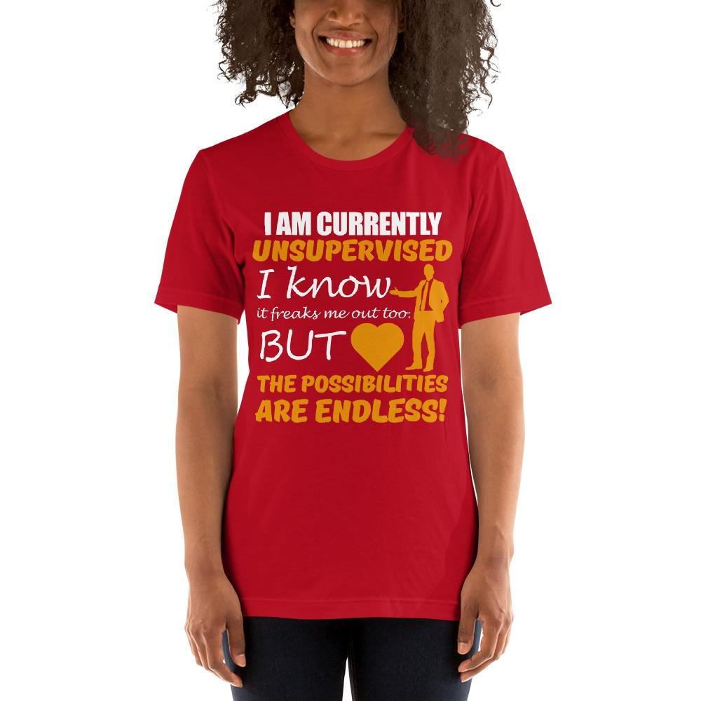 Possibilities are endless women's T-Shirt Chiro's Red S