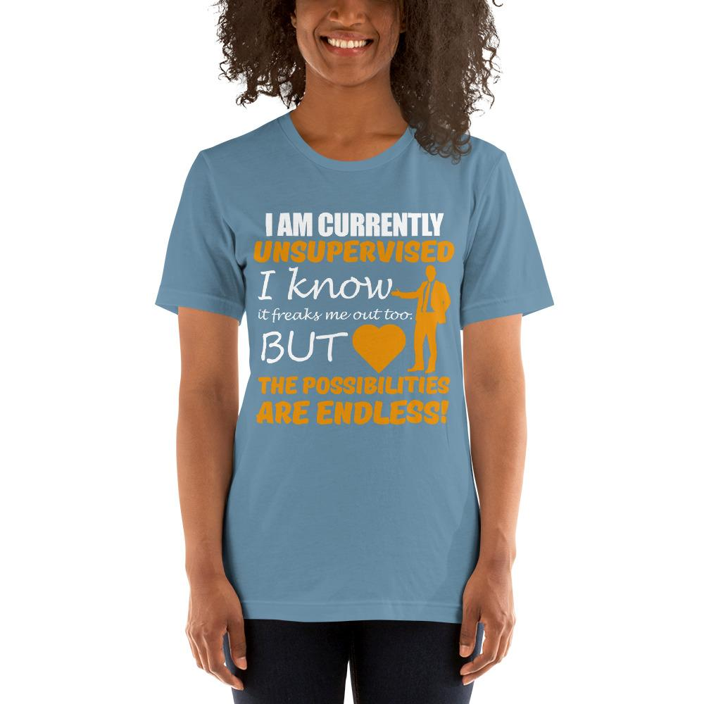 Possibilities are endless women's T-Shirt Chiro's Steel Blue S