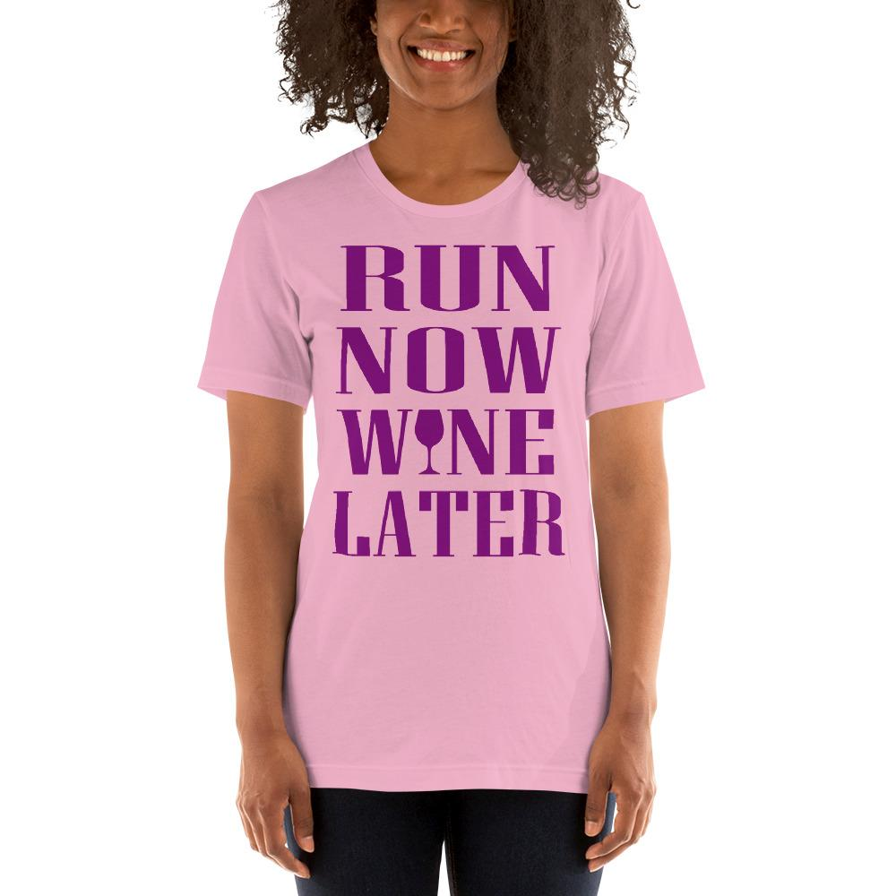 Run now, Whine Later Women's T-Shirt Chiro's Lilac S
